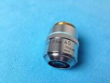 Nikon BD Plan 40x 40/0.5 ELWD 210/0 Microscope Objective Lens (Excellent Cond.)