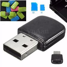 2en1 Mini USB 2.0 Micro SD SDHC TF T-Flash Memoria Card Tarjeta Lector Adaptador