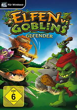 Elfos vs. Goblins: defender (PC, 2016, DVD-box) los goblins vienen!