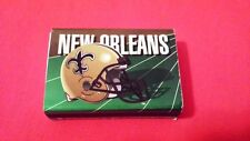 Vintage 1992 New Orleans Saints Matchbox with Matchsticks