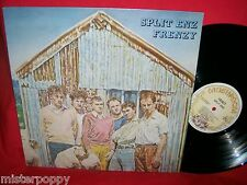 SPLIT ENZ Frenzy LP AUSTRALIA 1979 MINT- First Pressing G/f cover Mushroom Label