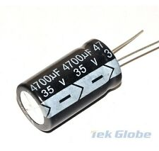 5PCS 4700UF 35V 105°C Radial Electrolytic Capacitor 18*30mm