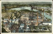 Three Rivers Quebec Wayagamac Pulp & Paper Co Postcard