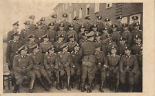 Carte photo ancienne militaires ecole officiers  sous officier inf  39/45 No 2