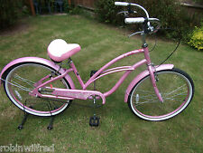 "New LADIES PINK CRUISER BIKE single speed 26"" wheel, 16"" frame, SURGE"