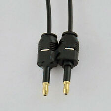 3Ft Toslink Optical 3.5mm Mini Male To Male Audio Cable Sound System S/PDIF