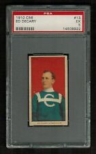 PSA 5 ED DECARY 1910 C56 Hockey Card #13 ROOKIE