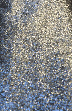 SILVER BIG GLITTER FABRIC SPARKLE WALL COVERINGS AT A GREAT PRICE !