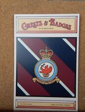 Royal Airforce Germany Crests & Badges of  the Armed services Postcard