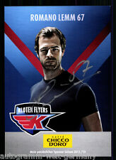 Romano Lemm Kloten Flyers 2012-13 TOP AK Orig. Sign. Eishockey +A 58744