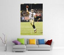 DREW BREES NEW ORLEANS SAINTS GIANT XL WALL ART PRINT PHOTO POSTER J36