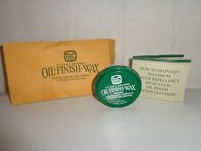 NEW FILSON MADE IN USA OIL FINISH WAX 1 1/8 FL OZ.