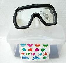 Immersioni subacquee maschera DELFINI Snorkel faccia di piccole dimensioni NUOVO di zecca BEAVER Snorkelling Diver