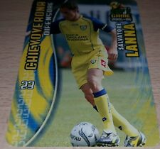 CARD CALCIATORI PANINI 2005-06 CHIEVO LANNA CALCIO FOOTBALL SOCCER ALBUM