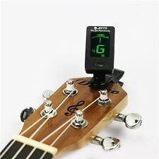 Acoustic Clip-On Digital Chromatic Bass Violin Ukulele Electric Guitar Tuners