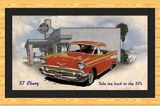 CHEVROLET '57 CHEVY  BAR RUNNER MAT  1957 CHEVROLET BAR RUNNER