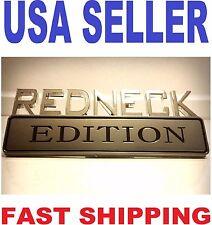 REDNECK EDITION emblem INTERNATIONAL HARVESTER car TRUCK SUV logo DECAL badge .1