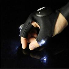 Cycling Winter Lighting Bike Bicycle Glove Fishing Outdoor LED Flashlight XW