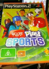 Eye Toy Play Sports (no booklet) PLAYSTATION 2 PS2 - FREE POST