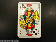 Vintage Jack of Clubs playing card