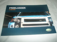 LAND ROVER FREELANDER ACCESSORI OPUSCOLO TESTO TEDESCO 2003