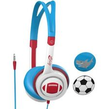 iFrogz ILittle Rockers Costume Headphones - Red/Blue