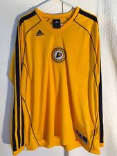 Adidas OnCourt Shooter NBA Jersey Indiana Pacers Team Yellow sz L