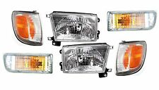 1999-2002 TOYOTA 4RUNNER HEADLIGHTS, CORNER, & SIGNAL LAMPS LIGHTS COMBO