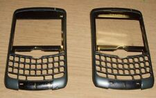 2 x Genuine Orig Blackberry 8300 Front Fascia Housing Dark Grey Green Grade A/B