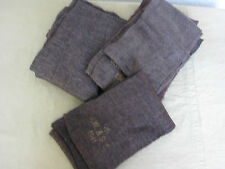US Army Schal scarf british made UK WD 1941 braun lange Ausführung WW2 Original
