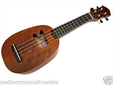 ANUENUE PINEAPPLE UKULELE Bear Motif & Rabbit Soundhole *w/Deluxe Bag* NEW!