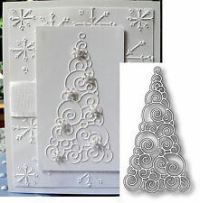 WINTERLAND TREE metal cutting die by MEMORY BOX DIES 98168 Holidays Christmas