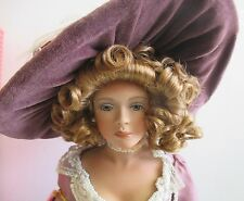 """PARADISE GALLERIES LADY JANE PORCELAIN 18"""" DOLL #074 BY KATHLEEN HILL w/BOX"""