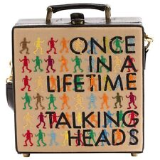 NUMBERED OLYMPIA LE TAN BAG CLUTCH MINAUDIERE ONCE IN A LIFETIME TALKING HEADS