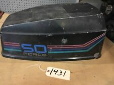 Hood Cowling Lid Cover Top 1988 Force 50 hp by US Marine man cave art 507x8D