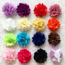 Lots 10Pcs Baby Girls Cute Lace Flower Headband Children Hair Band Accessories