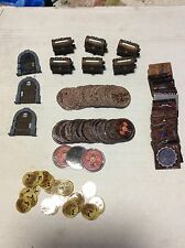 Mage Knight Dungeons &  Dragons Doors, Chests, & Game Pieces