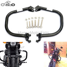 Black Engine Guard Crash Bar Protection For Harley Street XG500 XG750 2015-2016