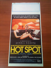 THE HOT SPOT IL POSTO CALDO locandina poster Virginia Madsen Thriller Erotico