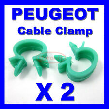 PEUGEOT WASHER PIPE ACCELERATOR BONNET CABLE CLIPS CLAMP HOLDER WIRING LOOM 10mm