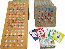 BINGO Kit - 50 Shutter/Slide Cards, Calling Cards (deck of 75), Masterboard