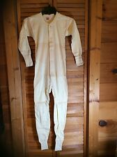 Vintage New Old Stock Children's Hanes Heavy Weight Union Suit Long Johns Sz 30