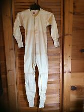 Vintage Union Suit Hanes Heavyweight Children's Long Johns Sz 30 New Old Stock
