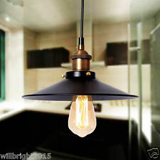 New Metal Warehouse Vintage industrial pendant Light Ceiling Chandelier Fitting