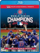 OFFICIAL 2016 WORLD SERIES FILM CHICAGO CUBS CHAMPIONS New Sealed Blu-ray + DVD