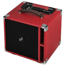 "Phil Jones Bass Suitcase Compact BG-400 300-Watt 4x5"" Bass Combo Amplifier (Red)"