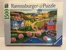 New with Shrink Wrap – 1500 PC Ravensburger Jigsaw Puzzle - Farm Country - 2013