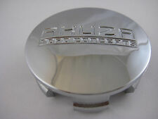 AKUZA ARC-7 PACER-7 PCW-3 MBM-3 CHROME WHEEL RIM SNAP IN CENTER CAP (ARC7)