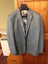 Italian Voeut Milano Men's Fitted Pale Green Blazer Jacket UK40 EU50