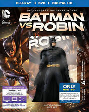Batman vs. Robin (Blu-ray/DVD) best buy exclusive with figurine